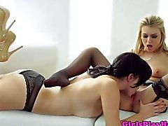 Hot lez babe Jelena Jensen have to fuck each other