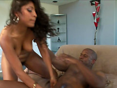 Latina Laurie Vargas interracial