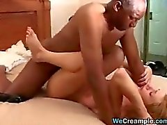 Young Slut With An Old Black Cock