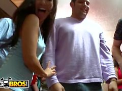 BANGBROS - College Dorm Invasion With Pornstars Ava Addams, Diamond Kitty