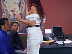 Big Tits at Work - Monique Alexander Bambino