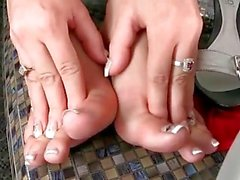 hot footsie babes sex compilation
