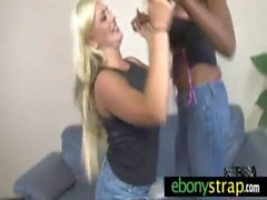 Lesbian Interracial - Black and White 2
