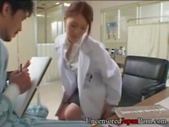 Japanese nurse fucking doctor - Uncensored Japanese Hardcore