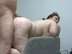 Busty Pierced Mom Gets Ass Pounded