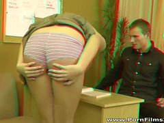 Porn Films 3D - Ass punished by the teacher