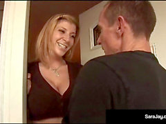 Plumber Rick Clears Sara Jay's Drain & She Cleans His Pipes!