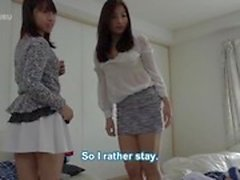My Stepmom And My Aunt Came To visit at my place 1 (subtitled)