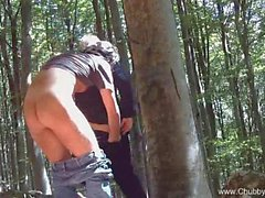 Italian Fucking Outside In The Woods