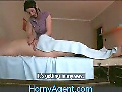 HornyAgent fucking le Masseur Matures