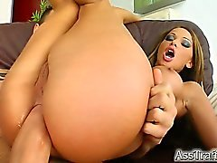 The beautiful Kristina Bella is back getting ass fucked at