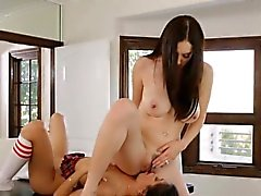 Jelena Jensen punished Veronica by spanking her ass