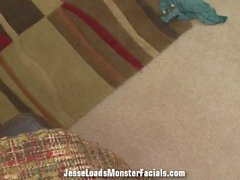 POV filthy whore Jamie Jackson plays with her toy and sucks your dick dry