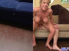 MILF Trip - Horny blonde MILF Dee Williams takes load to the face - Part 2