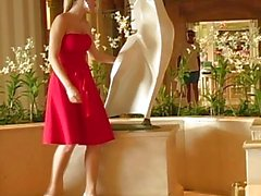 Alison Angels A Sexy Red Dress Acts Like
