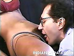 Lovely Indian girl Claudia Nyce has a sweet face and a big