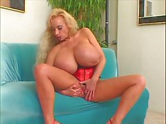 Monster tits mature blonde