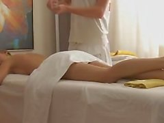 Krystal Boyd gets a great and fun massage