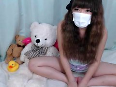 Korean Amateur Hairy Teen GF Strip Tease