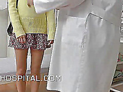 Smutty women doctor with a hidden cam