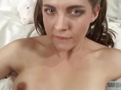 step daughter sadie holmes convinces her dad to put his dick inside of her