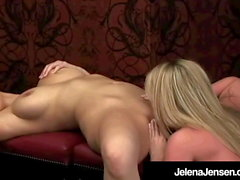 Penthouse Pet Jelena Jensen Muff Dives With Trisha Uptown!