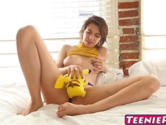 Horny Cece Capella gets a creampie and its super effective