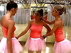 Teen Besties Fuck The New Ballerina!