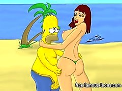 Famous cartoon celebrities sex