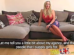 FakeAgentUK Incredibly sexy blonde MILF loves all things anal