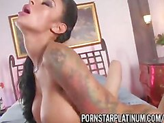 Canadian Pornstar Jessy Jones Fucks Angelina Valentine hot!!!