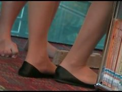 Asian pantyhose soles and toes[]