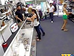 Black dude sells his latina girlfriend to a pawn keeper