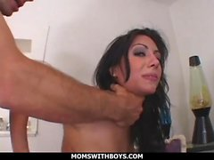 Young Cuban Mom Lela Star First Time Doing Porn