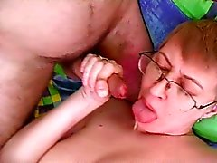 Rough anal pumping