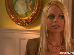 Bella Donna and Jesse Jane lesbo session