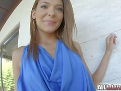 Allinternal Alexis Brill strips and gets fucked