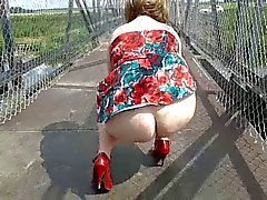 Flashing on a bridge near Ely (part 1)