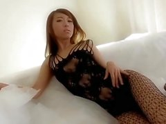 Japanese Girls Black Pantyhose
