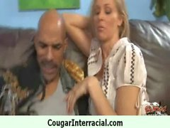 This sexy cougar take the monster black dong 12