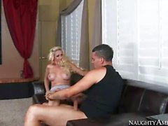Blonde Mom Mikki Lynn Fucks Son After The Movie