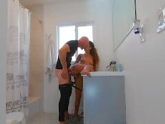 'Johnny Sins - Fucks Hot Step Sister After Shower